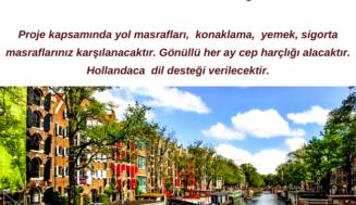Hollanda Uzun Süreli Gönüllülük  Projesi