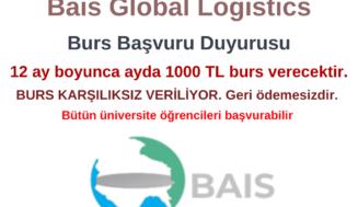 Bais Global Logistics Burs Başvurusu